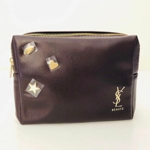 NEW Yves Saint Laurent Toiletry Travel Bag Pouch